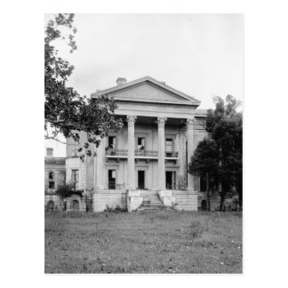 Belle Grove Plantation Louisiana Postcard