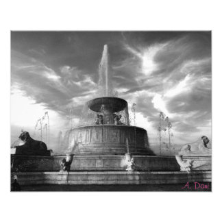 Belle Isle Fountain Photo Art