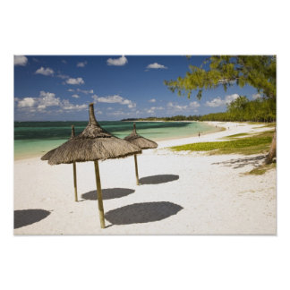 Belle Mare Public Beach, Southeast Mauritius, Poster