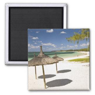 Belle Mare Public Beach, Southeast Mauritius, Square Magnet