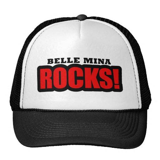 Belle Mina, Alabama City Design Trucker Hats