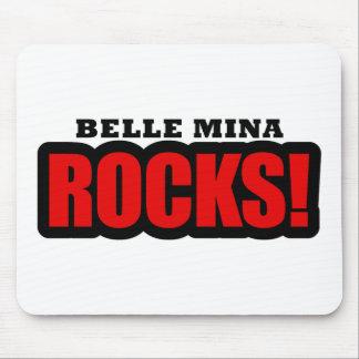 Belle Mina, Alabama City Design Mouse Pad