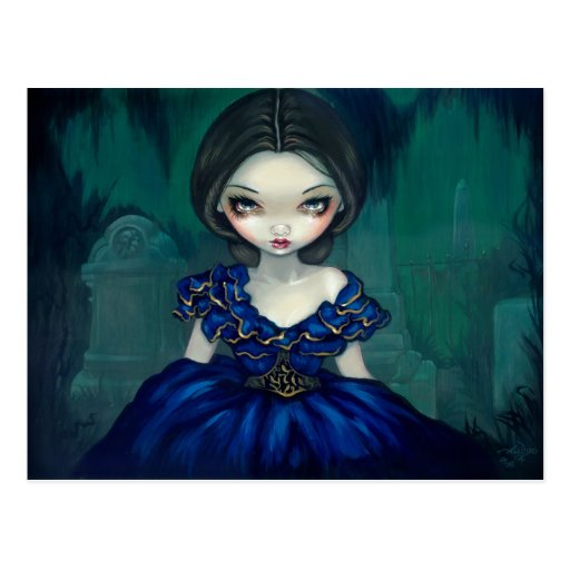 """Belle of Bonaventure"" Postcard"