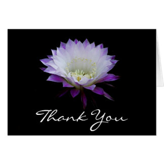 Belle of the ball night bloomer thank you card