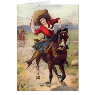 Belle Of The Plains Card