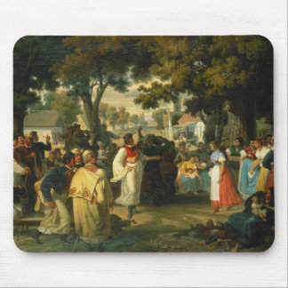 Belle of the Village is asked for a Dance Mouse Mat
