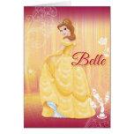 Belle Princess Cards