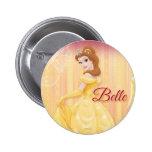 Belle Princess Pinback Button