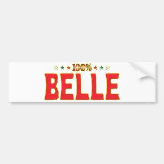 Belle Star Tag Bumper Sticker