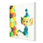 Belle the Pixie Elf Canvas Print