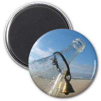 Belled 6 Cm Round Magnet