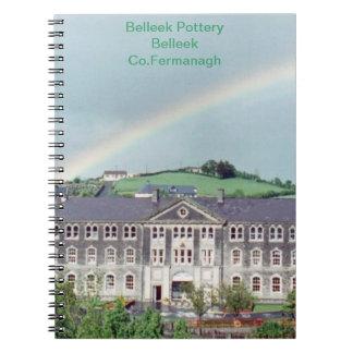 Belleek Pottery Belleek Co. Fermanagh  Note Book