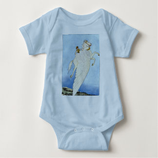 Bellerophon and Pegasus Baby Bodysuit