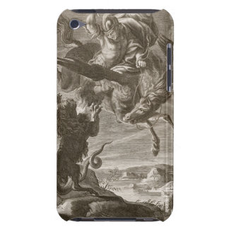 Bellerophon Fights the Chimaera, 1731 (engraving) Case-Mate iPod Touch Case