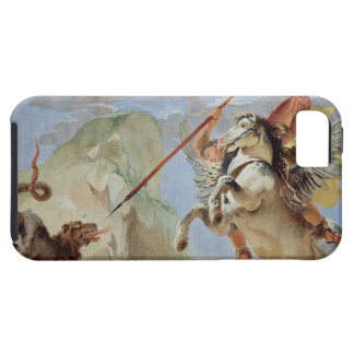 Bellerophon, riding Pegasus, slaying the Chimaera, iPhone 5 Cases