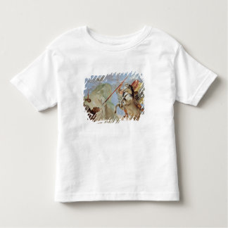 Bellerophon, riding Pegasus, slaying the Chimaera, Toddler T-Shirt