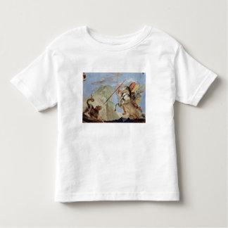 Bellerophon, riding Pegasus, slaying the Chimaera, Toddler T-Shirt
