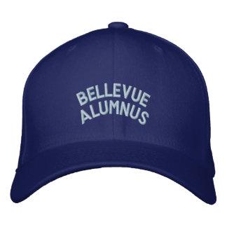 Bellevue Alumnus: Flexfit Cap (Dark) Embroidered Hat