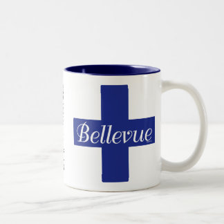 Bellevue, Font Wars Mug