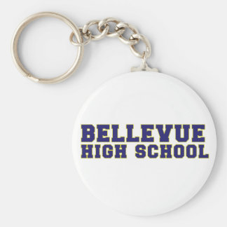 Bellevue High School Key Chain