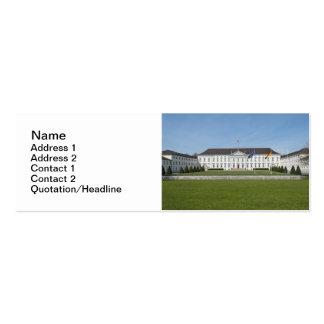 Bellevue Palace in Berlin Business Card Template