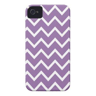 Bellflower Purple Chevron Iphone 4S Case
