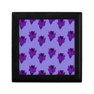 Bellflower purple small square gift box