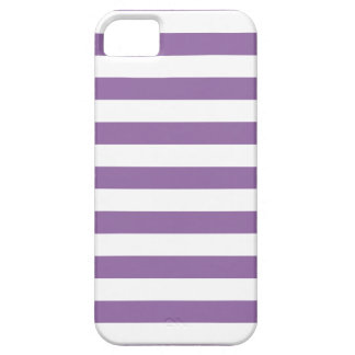 Bellflower Purple Stripes iPhone 5 Case