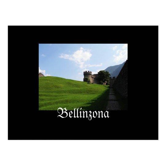 Bellinzona Switzerland Postcard