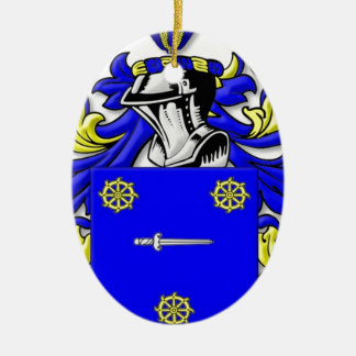 Bellis Coat of Arms Christmas Tree Ornaments