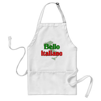 Bello Italiano (Handsome Italian Man) Standard Apron