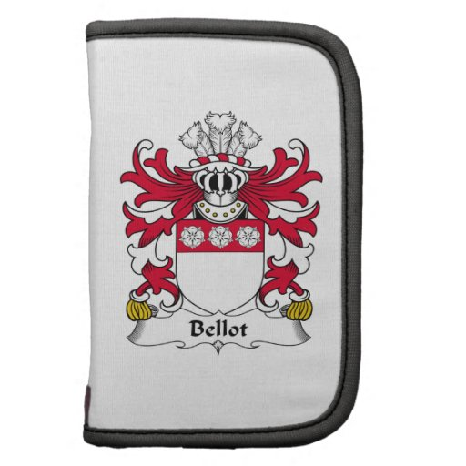 Bellot Family Crest Planners