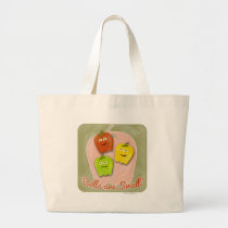 Bells are Swell Large Tote Bag