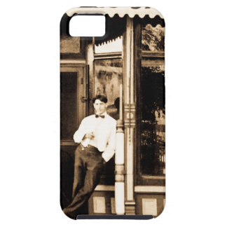 Bell's Barber Shop Vintage Americana iPhone 5 Covers