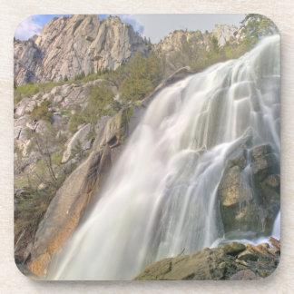 Bells Canyon Waterfall, Lone Peak Wilderness, Beverage Coaster