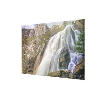 Bells Canyon Waterfall Lone Peak Wilderness Canvas Prints