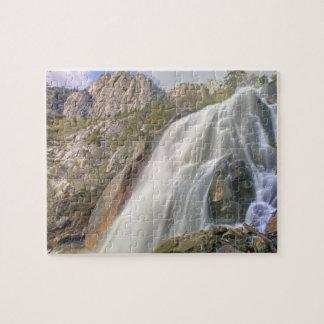 Bells Canyon Waterfall, Lone Peak Wilderness, Jigsaw Puzzle