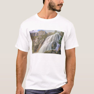 Bells Canyon Waterfall, Lone Peak Wilderness, T-Shirt