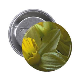 Bells On The Leaf Blades Pinback Button