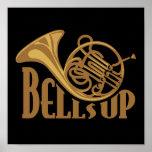 Bells Up Horn Print