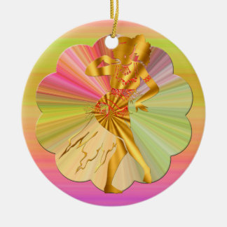 Belly Dance Christmas Ornament