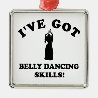 Belly Dance designs Christmas Ornaments