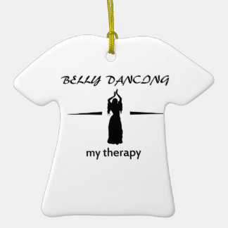 Belly Dance designs Christmas Ornament