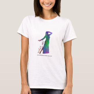 Belly Dance (in Arabic) T-Shirt (Colour Mix 1)