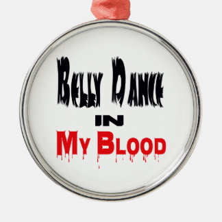 Belly Dance In My Blood Christmas Tree Ornament