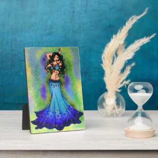 Belly Dancer Art Plaque