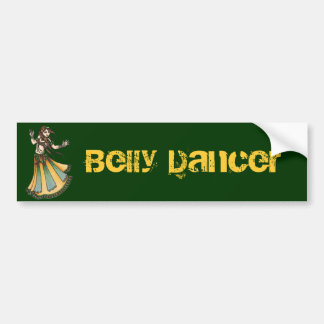 Belly Dancer Bumper Sticker