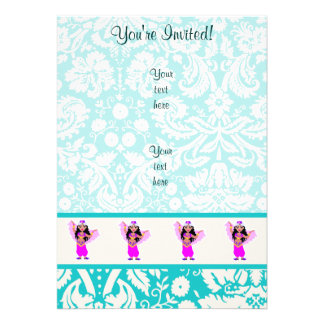 Belly Dancer; Cute Card