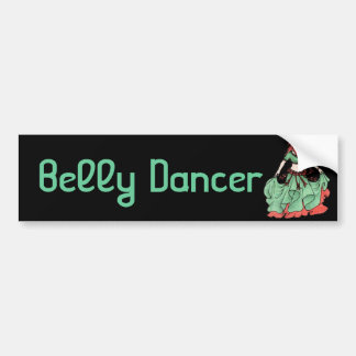 Belly Dancer Fritzie Bumper Sticker