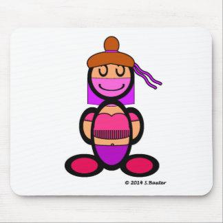 Belly Dancer (plain) Mouse Pad